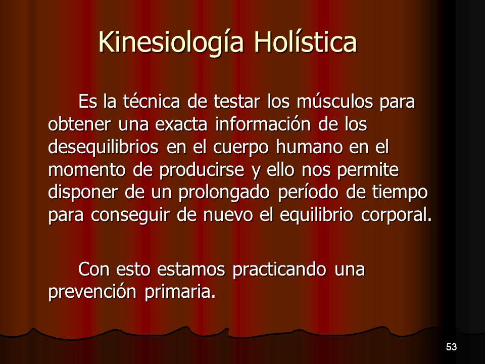 Kinesiología Holística