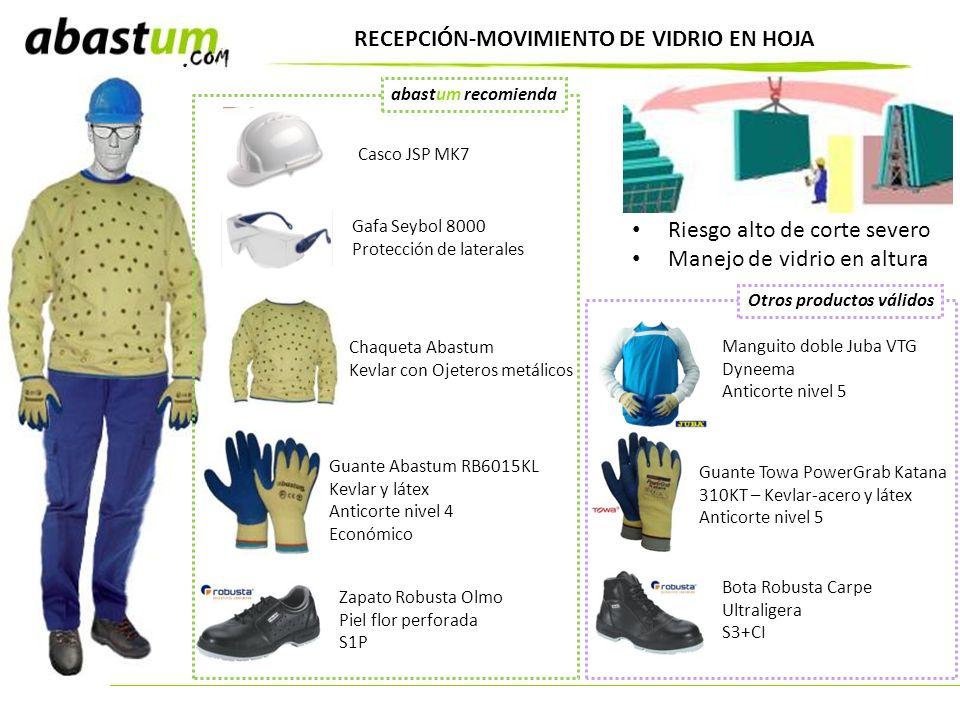 RECEPCIÓN-MOVIMIENTO DE VIDRIO EN HOJA
