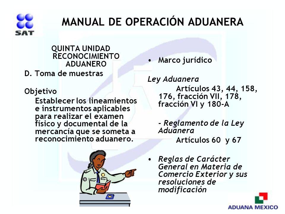 MANUAL DE OPERACIÓN ADUANERA