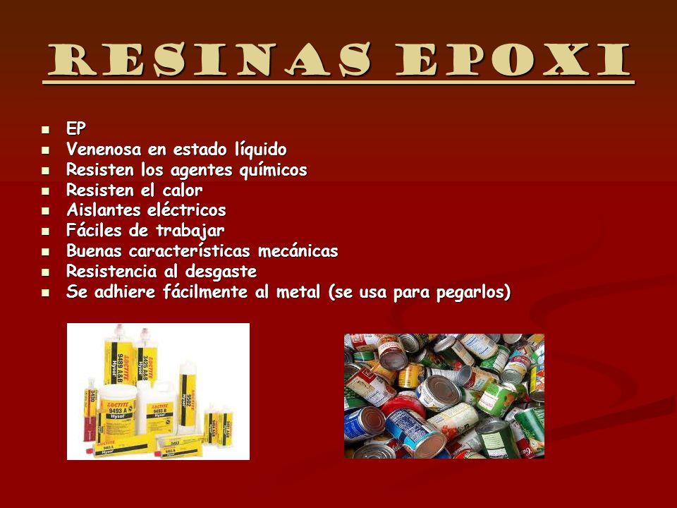 Resinas epoxi EP Venenosa en estado líquido