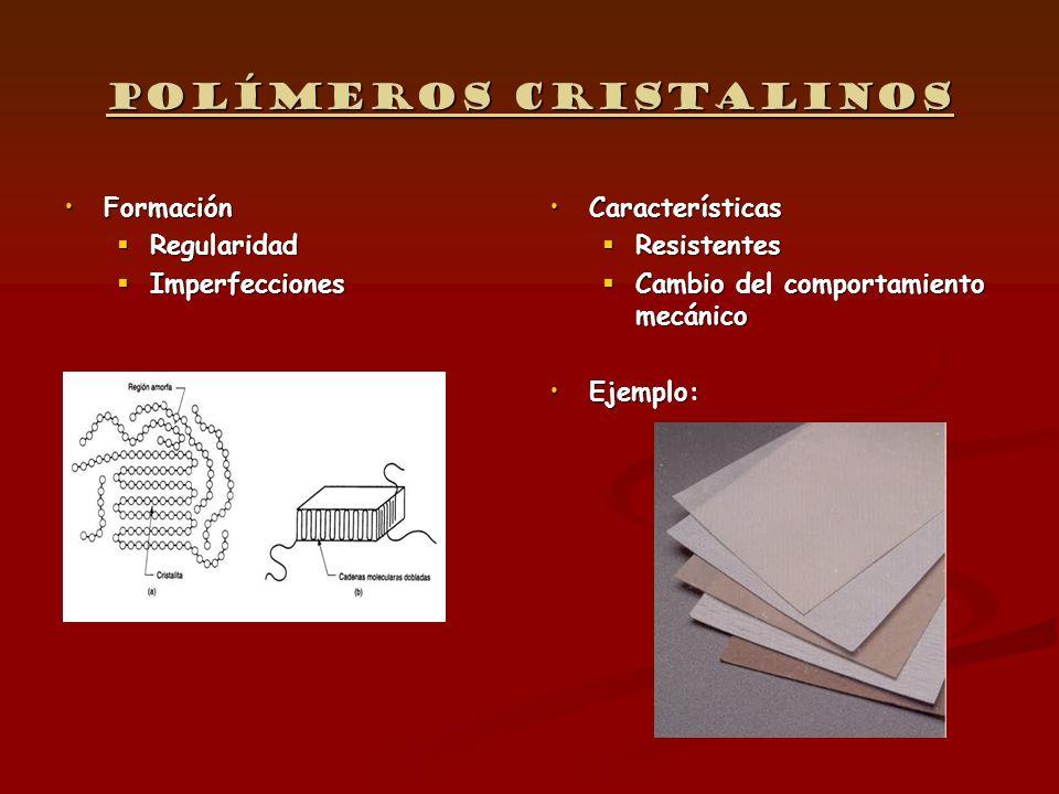 Polímeros cristalinos