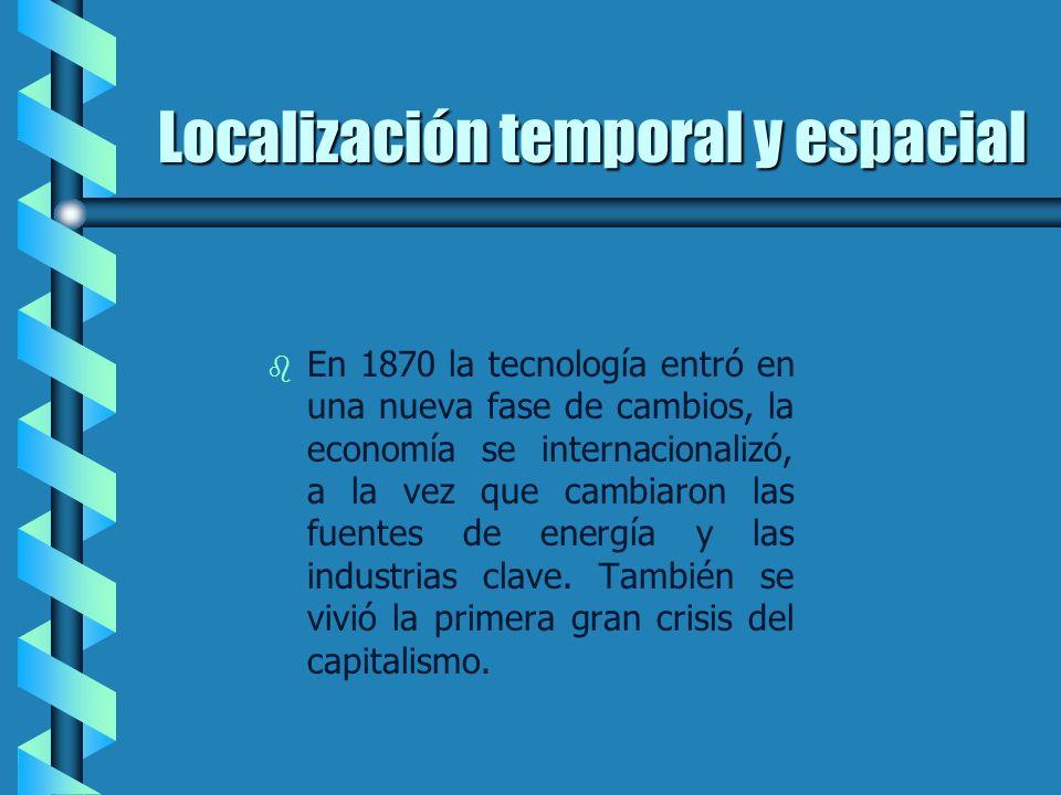 Localización temporal y espacial