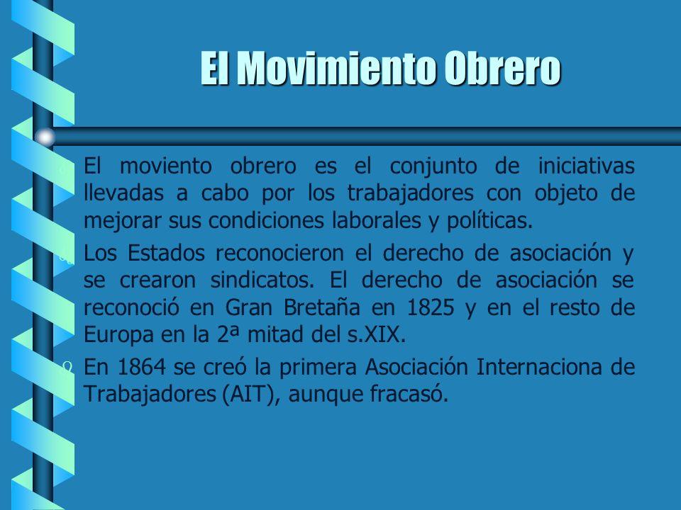 El Movimiento Obrero