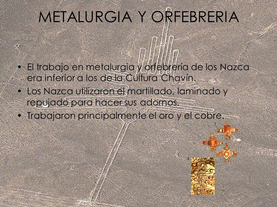 METALURGIA Y ORFEBRERIA