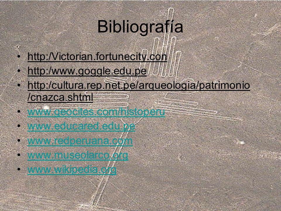 Bibliografía http:/Victorian.fortunecity.con http:/www.goggle.edu.pe