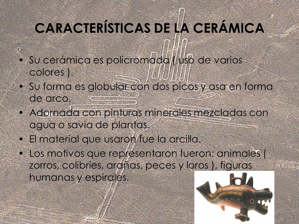 CARACTERÍSTICAS DE LA CERÁMICA