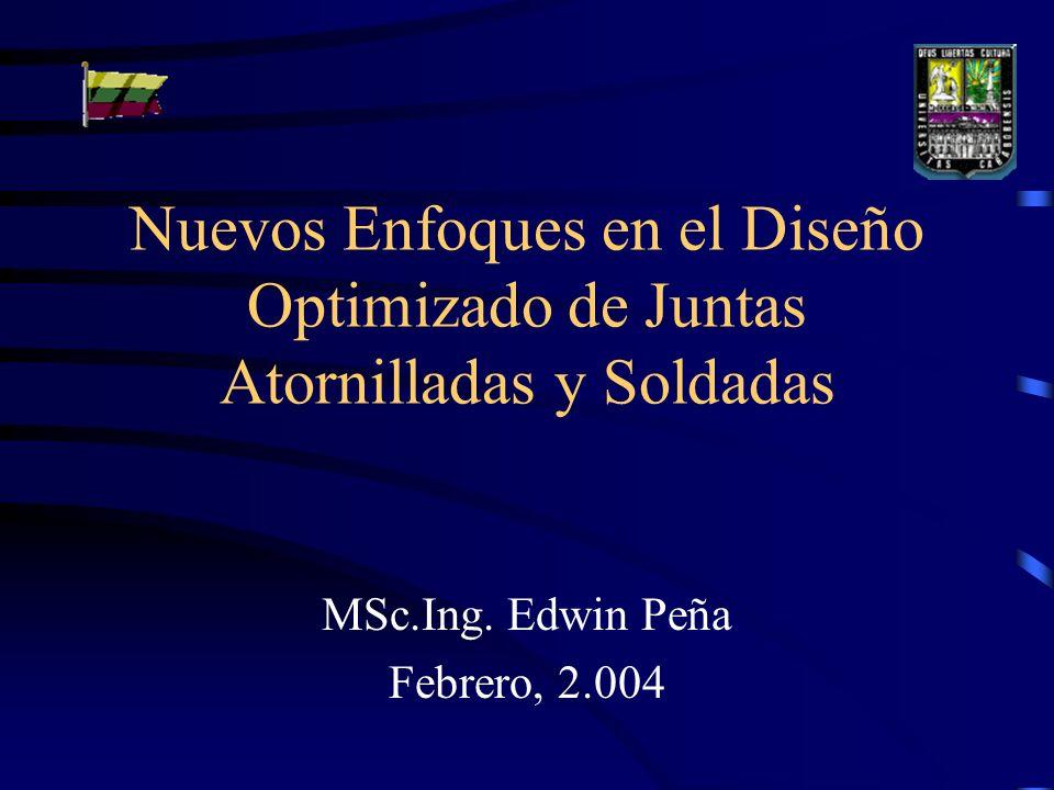 MSc.Ing. Edwin Peña Febrero, 2.004