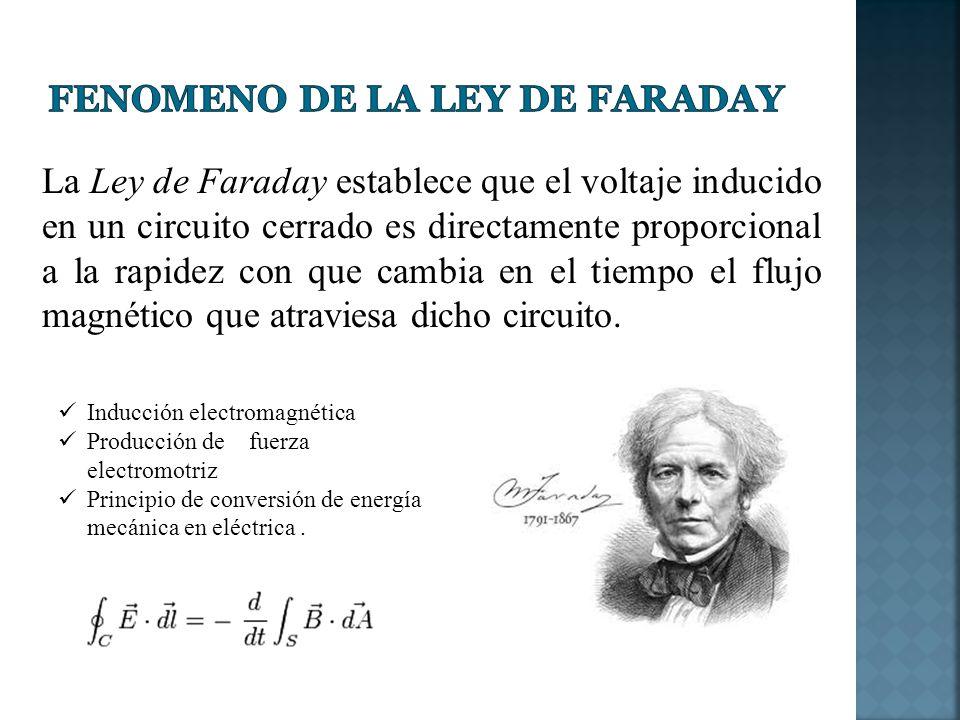 Fenomeno de la Ley de faraday