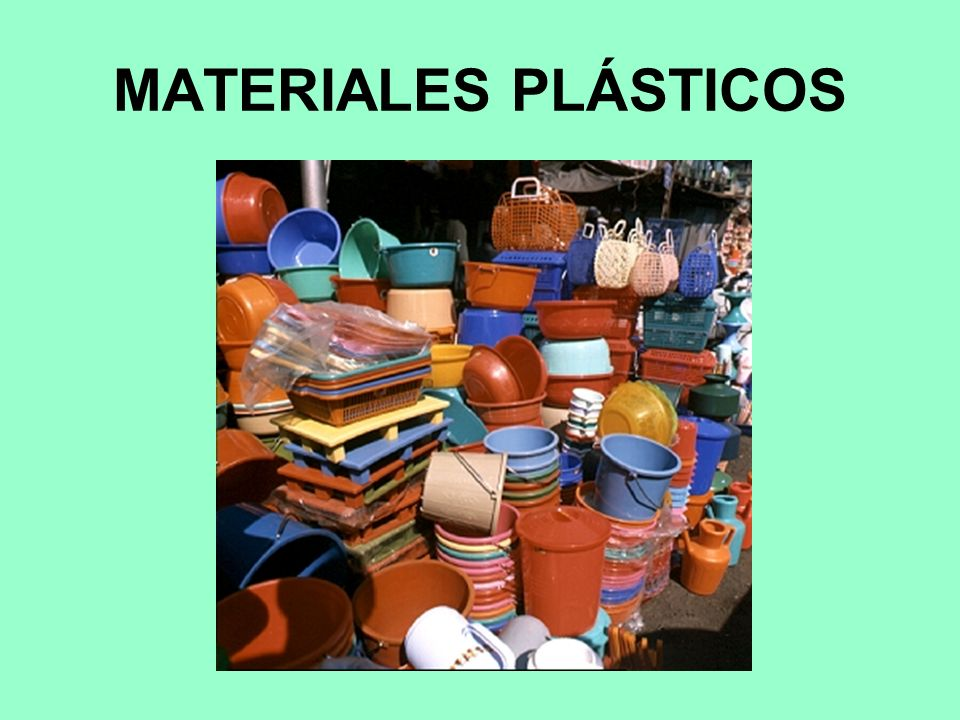 MATERIALES PLÁSTICOS