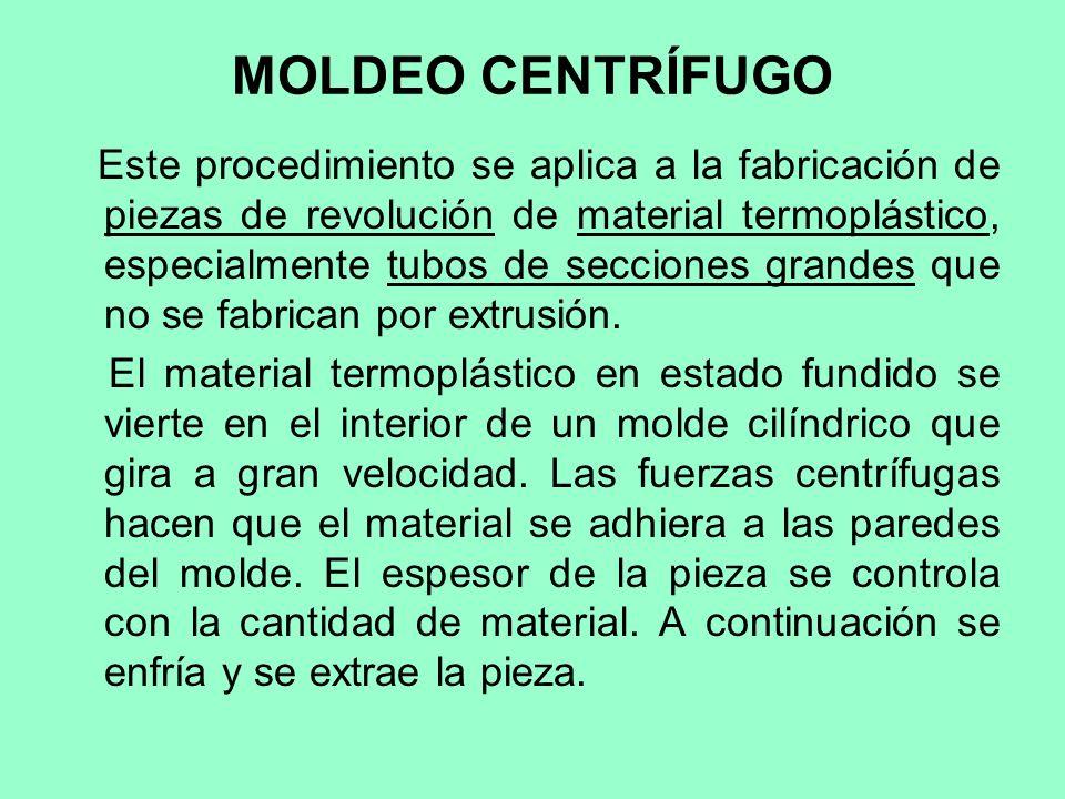 MOLDEO CENTRÍFUGO