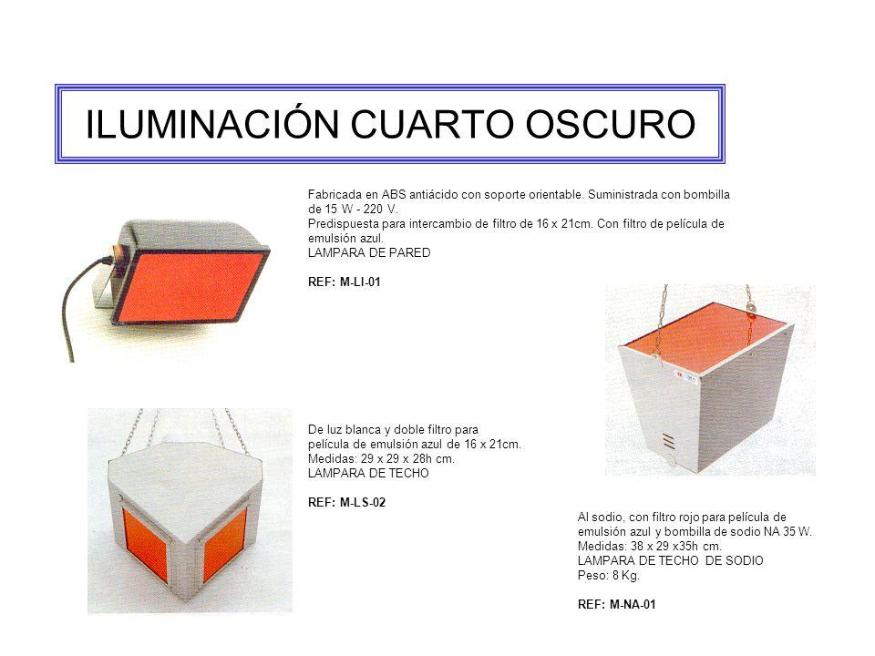 ILUMINACIÓN CUARTO OSCURO