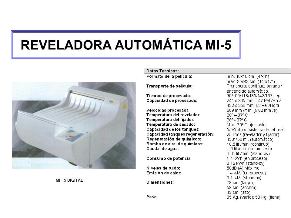 REVELADORA AUTOMÁTICA MI-5