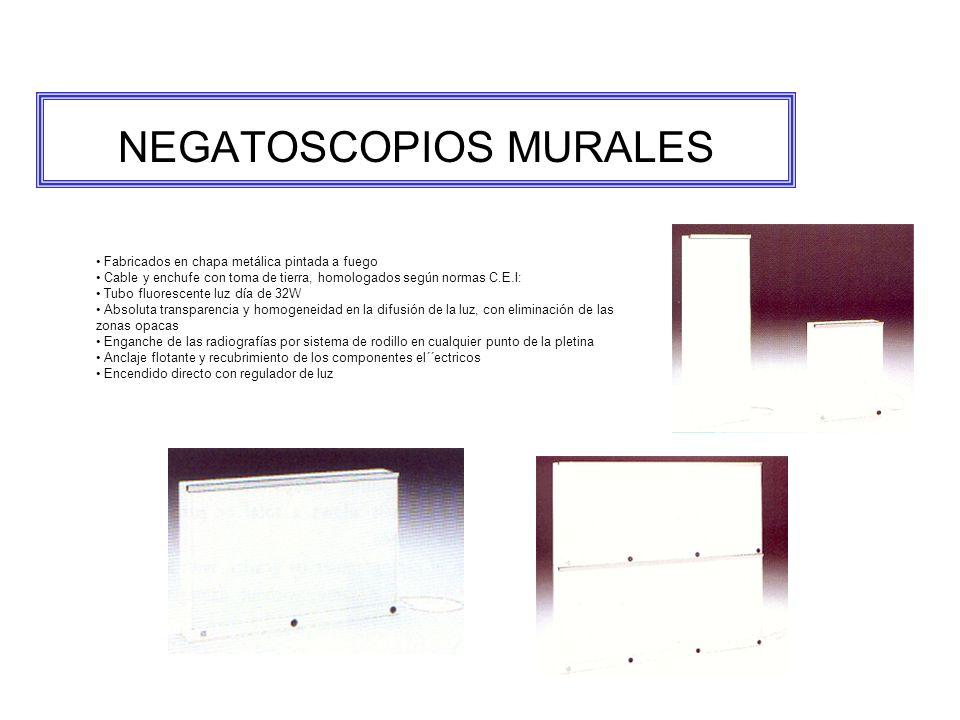 NEGATOSCOPIOS MURALES