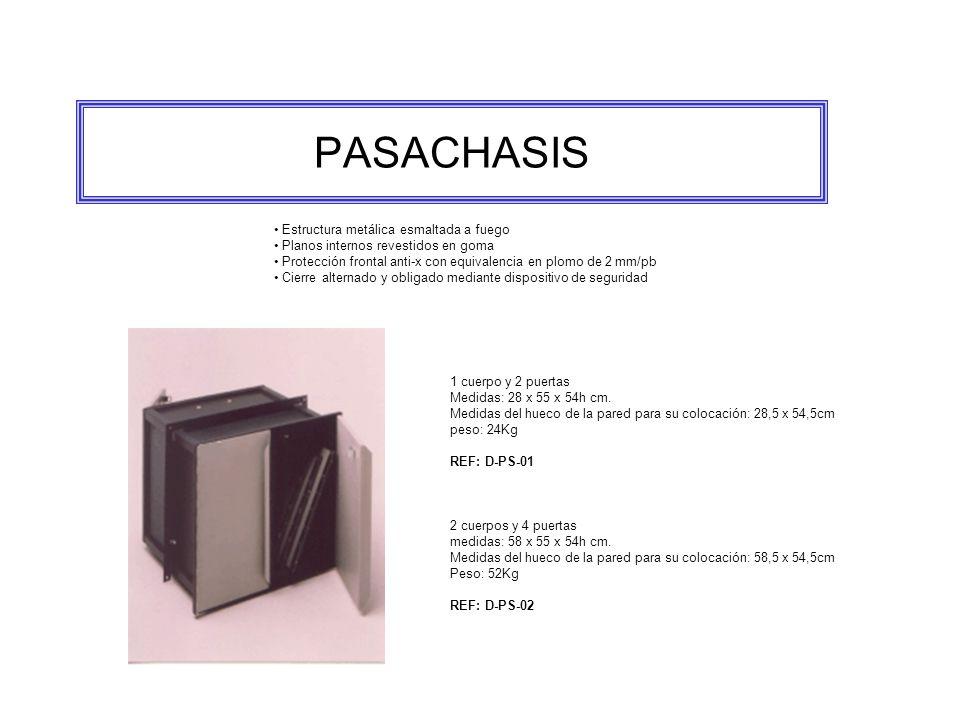 PASACHASIS • Estructura metálica esmaltada a fuego