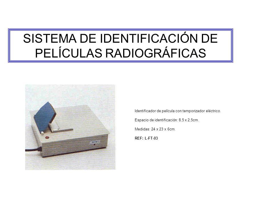 SISTEMA DE IDENTIFICACIÓN DE PELÍCULAS RADIOGRÁFICAS
