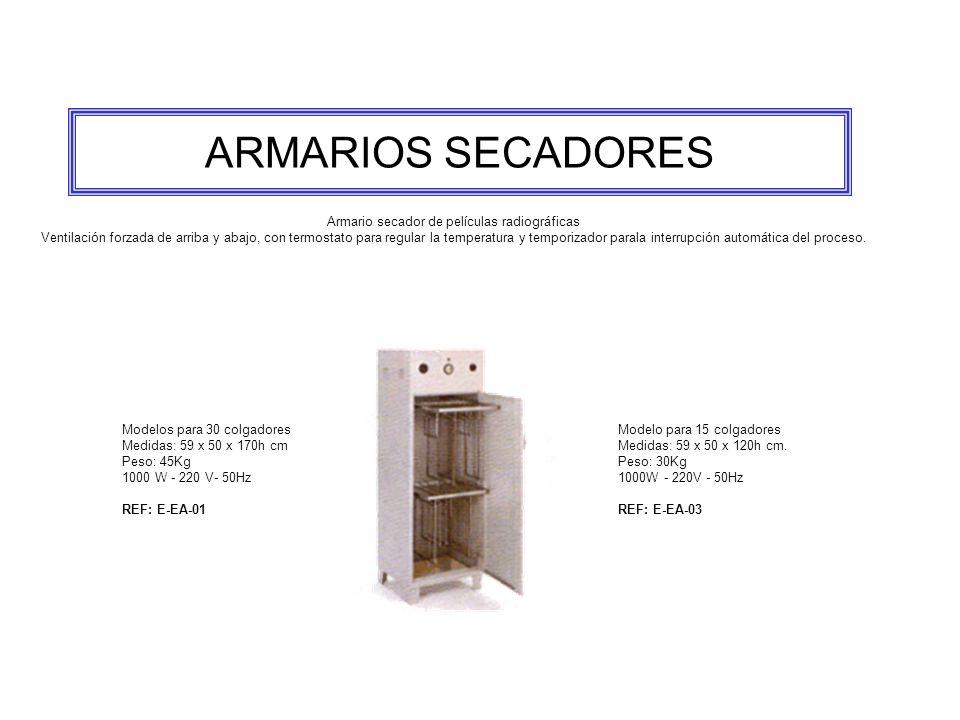 Armario secador de películas radiográficas