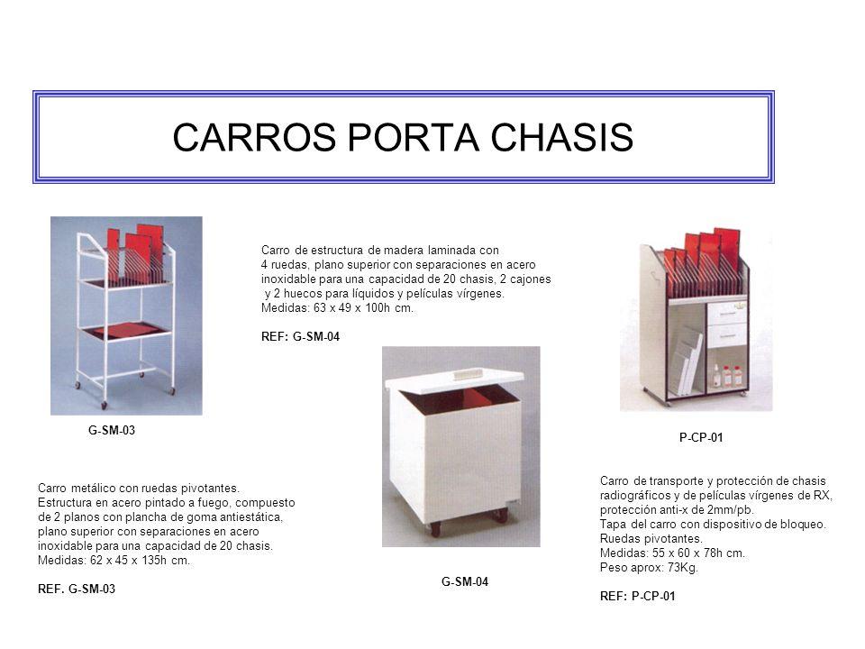 CARROS PORTA CHASIS Carro de estructura de madera laminada con