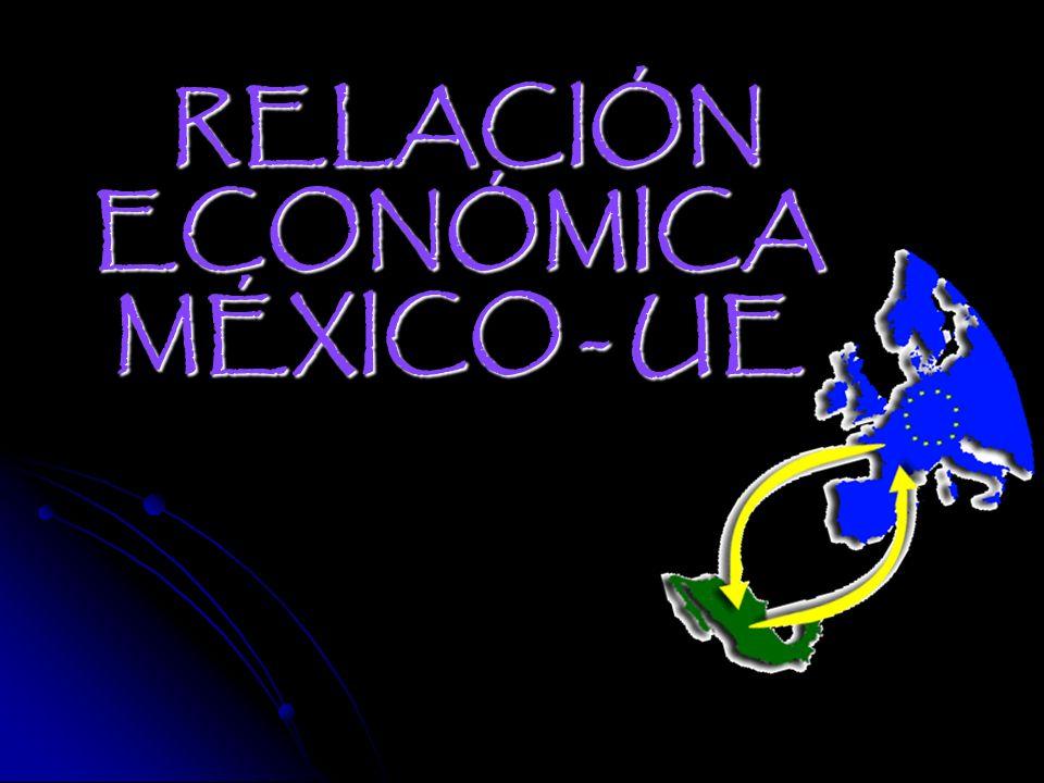 RELACIÓN ECONÓMICA MÉXICO - UE