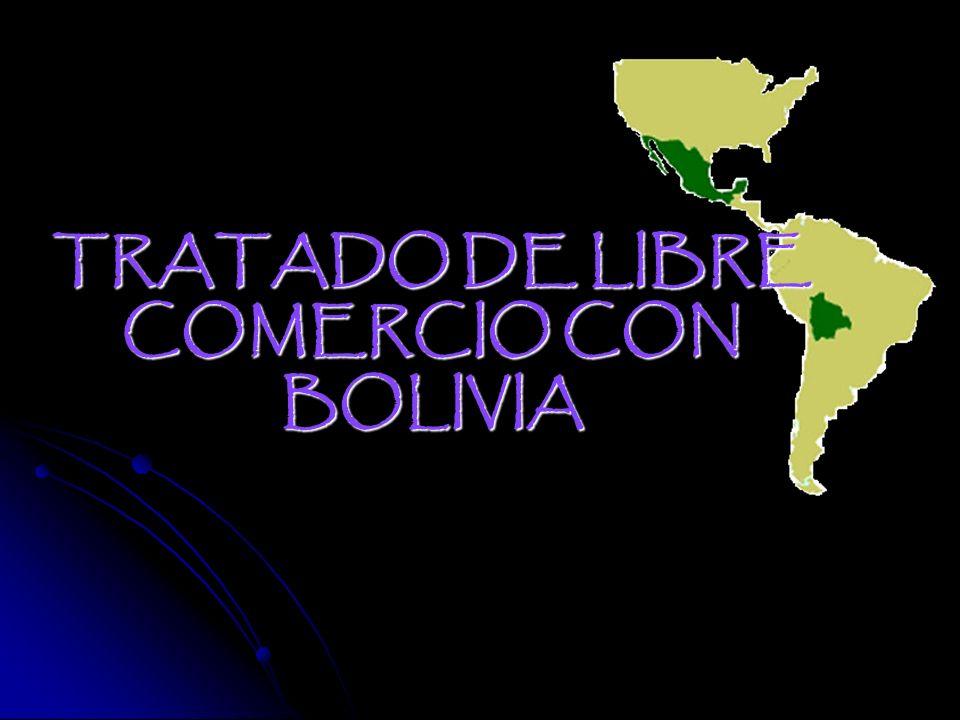 TRATADO DE LIBRE COMERCIO CON BOLIVIA