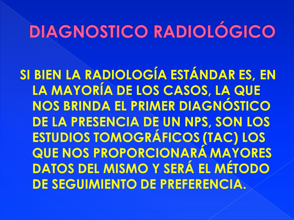 DIAGNOSTICO RADIOLÓGICO
