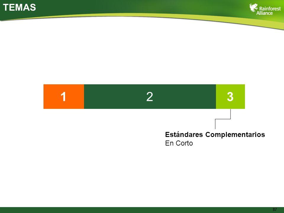 TEMAS 1 2 3 Estándares Complementarios En Corto