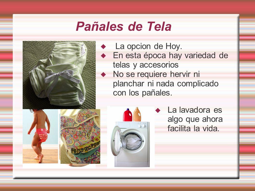 Pañales de Tela La opcion de Hoy.
