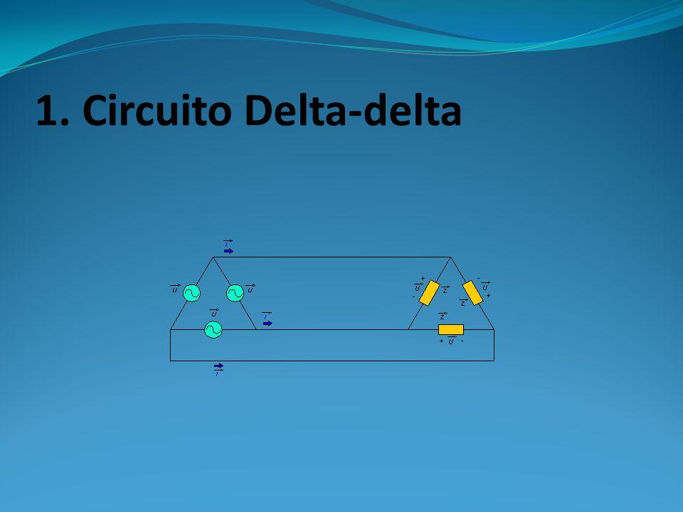 1. Circuito Delta-delta