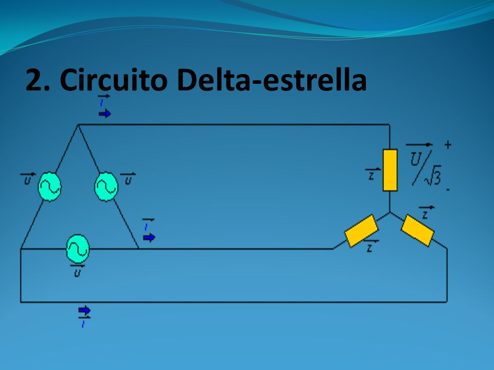 2. Circuito Delta-estrella