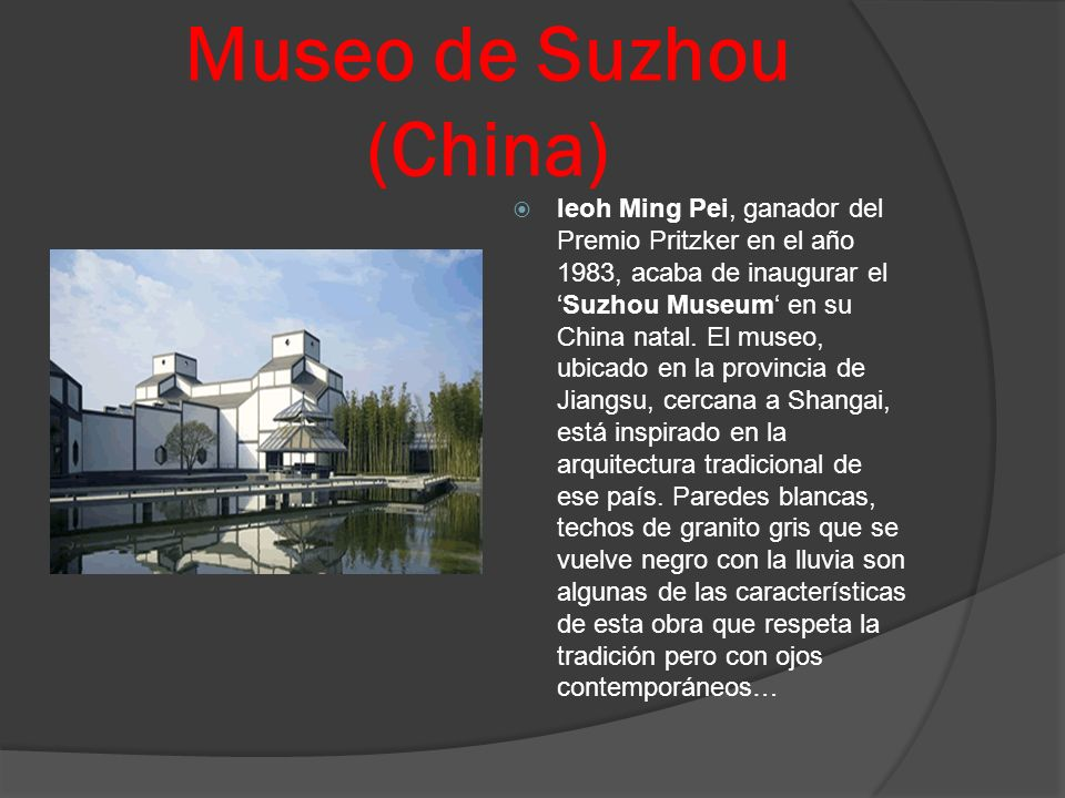 Museo de Suzhou (China)