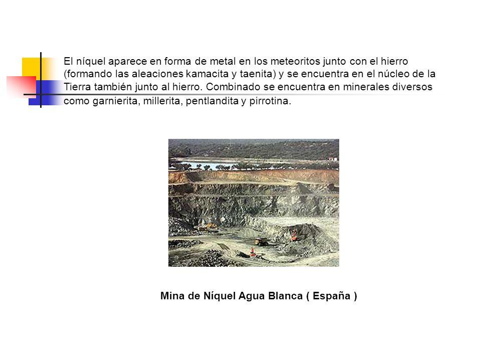 Mina de Níquel Agua Blanca ( España )
