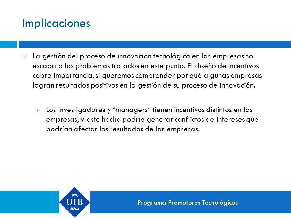Programa Promotores Tecnológicos