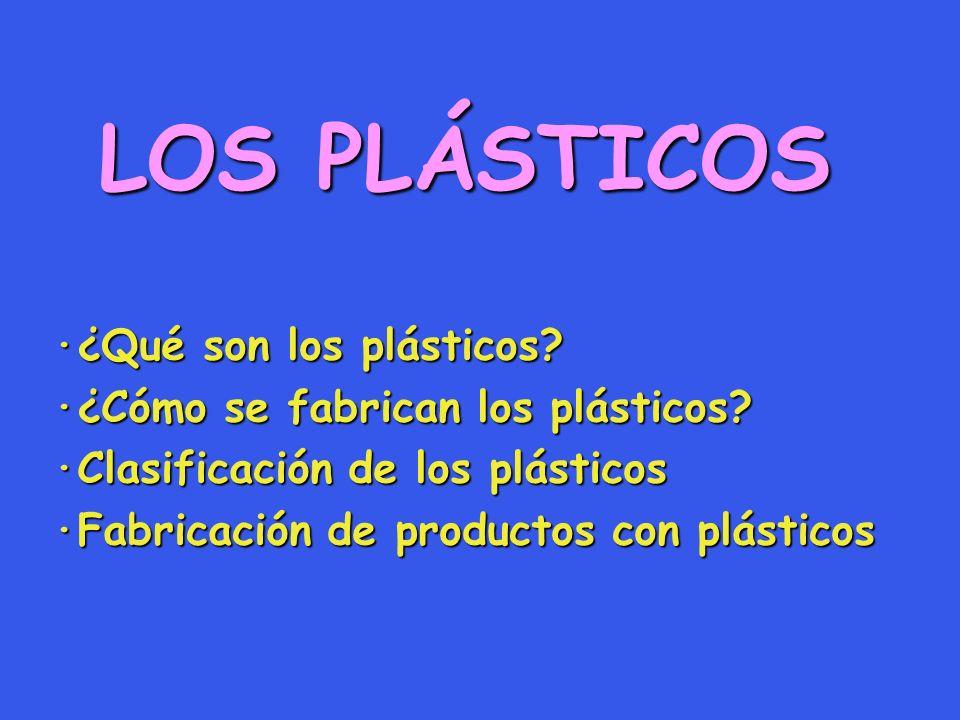 LOS PLÁSTICOS ·¿Qué son los plásticos
