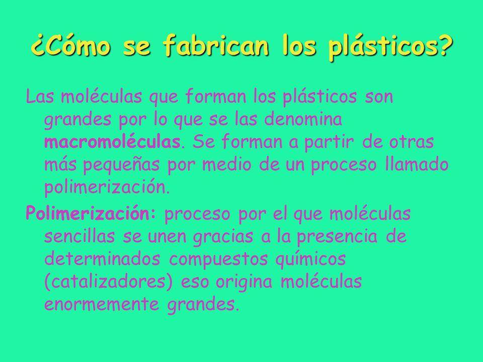 ¿Cómo se fabrican los plásticos