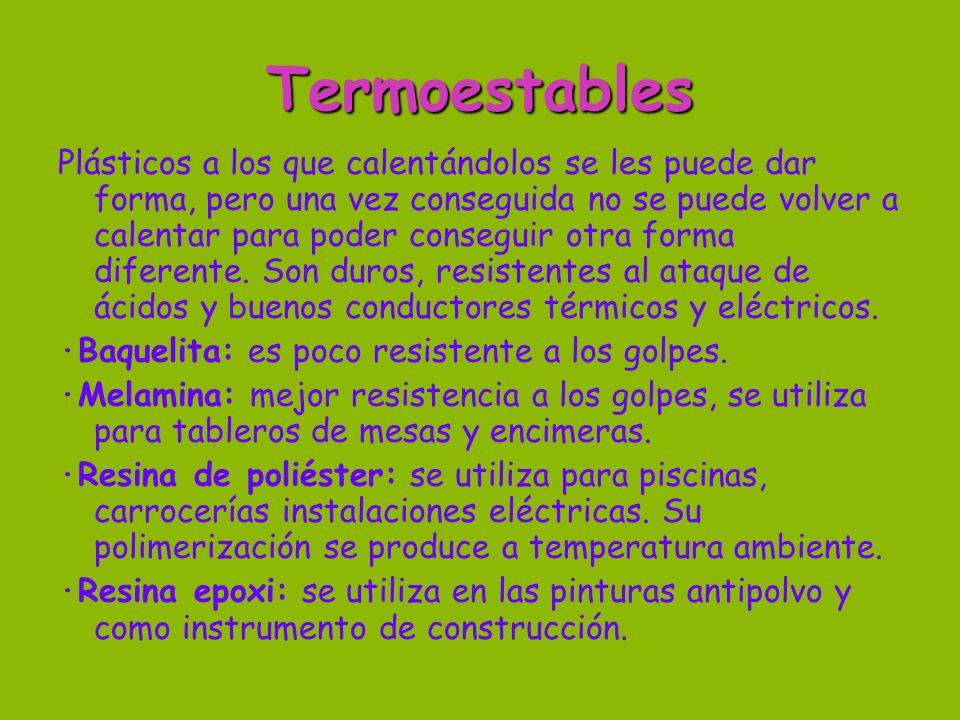 Termoestables