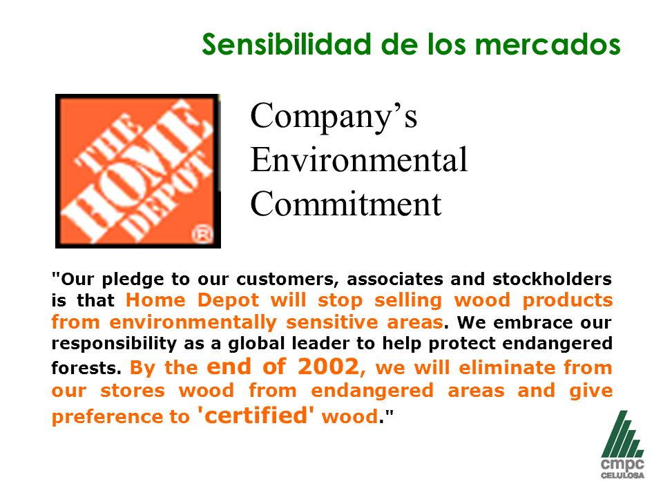 Company's Environmental Commitment