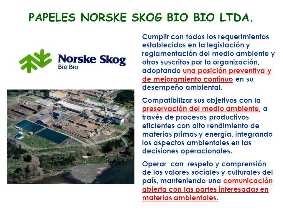 PAPELES NORSKE SKOG BIO BIO LTDA.