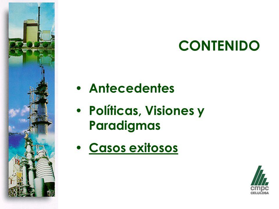 CONTENIDO Antecedentes Políticas, Visiones y Paradigmas Casos exitosos