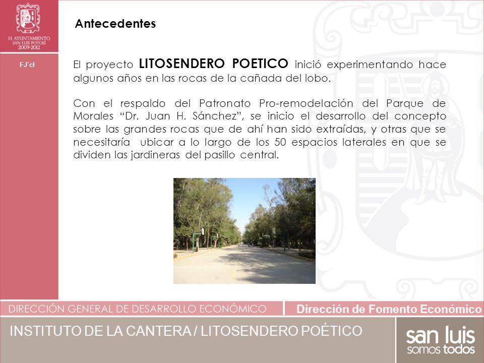 INSTITUTO DE LA CANTERA / LITOSENDERO POÉTICO