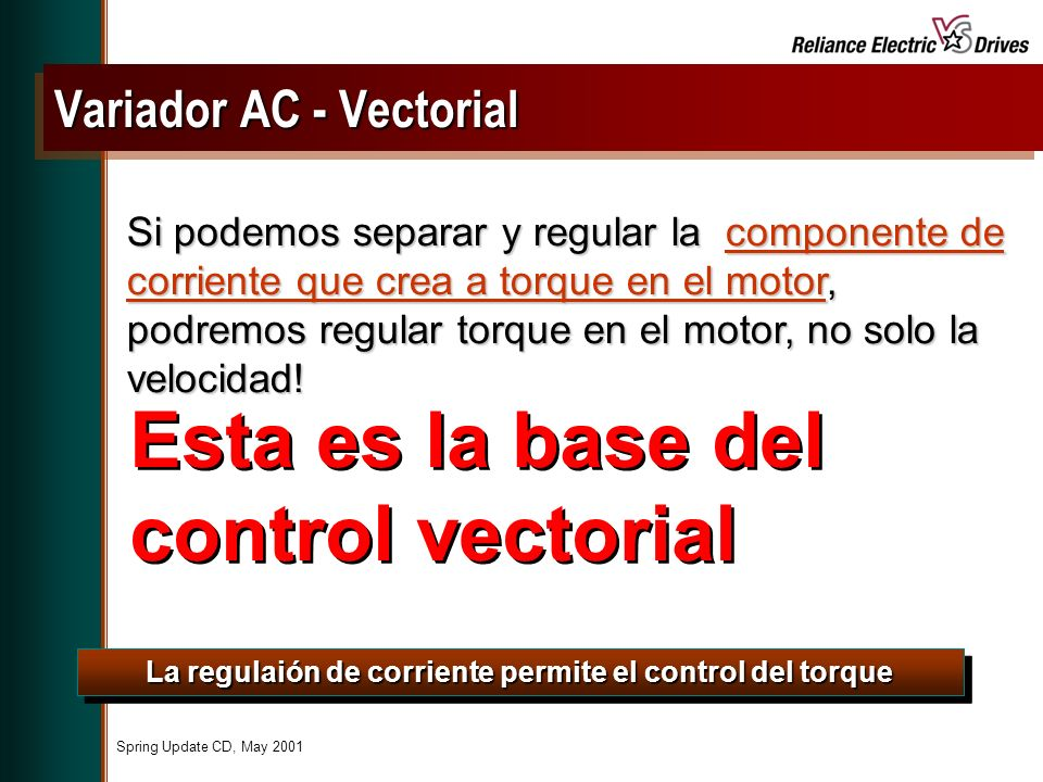 Variador AC - Vectorial