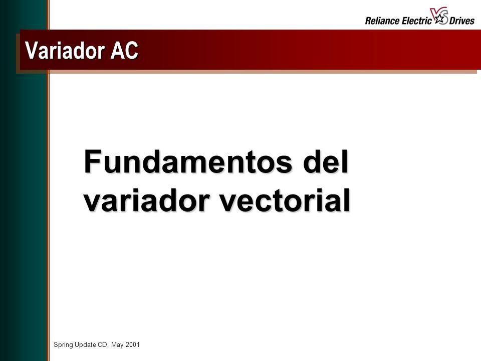 Fundamentos del variador vectorial