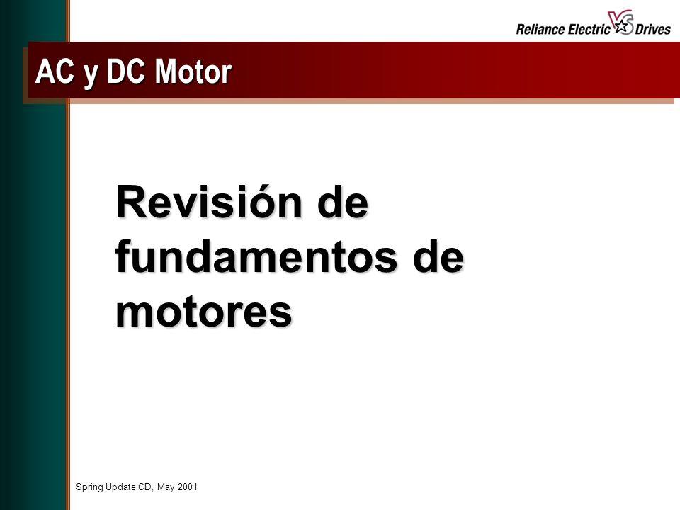 Revisión de fundamentos de motores