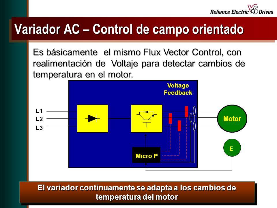 Variador AC – Control de campo orientado