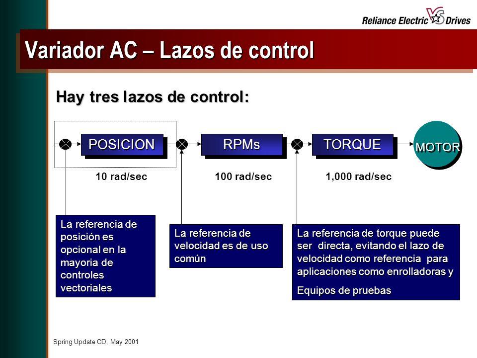 Variador AC – Lazos de control