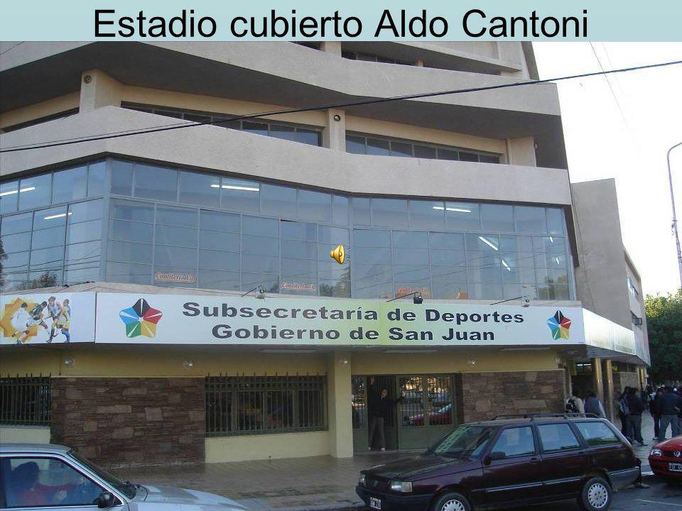 Estadio cubierto Aldo Cantoni