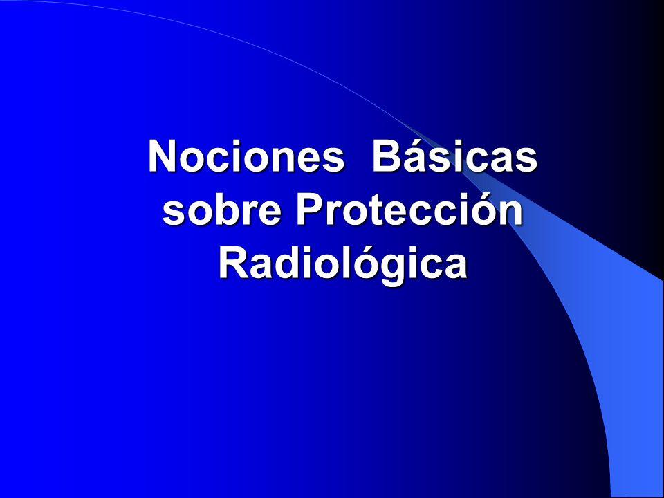 sobre Protección Radiológica
