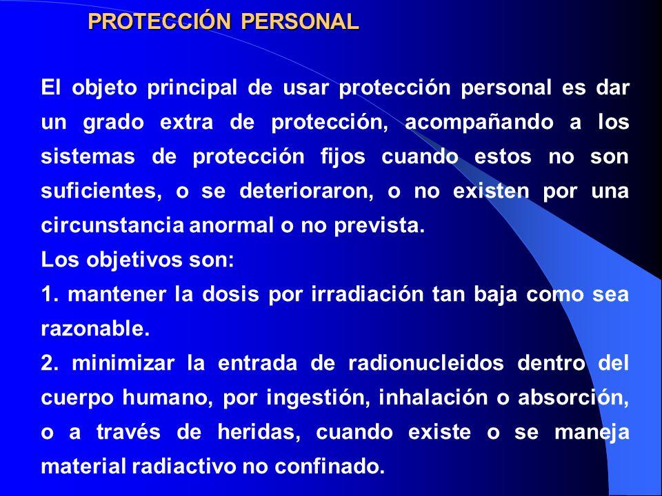 PROTECCIÓN PERSONAL