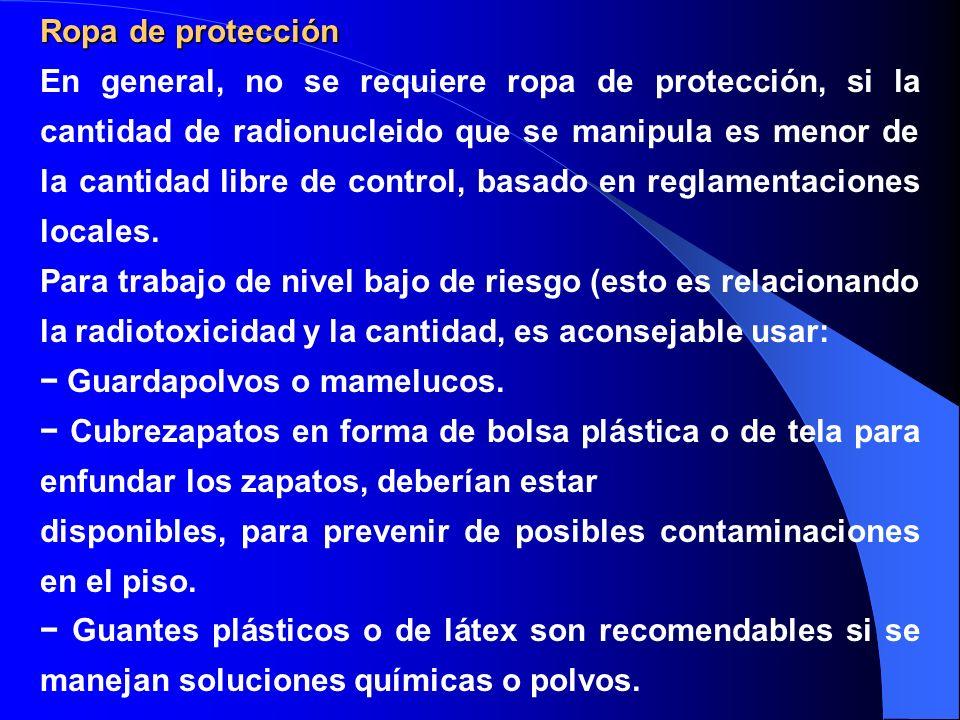Ropa de protección