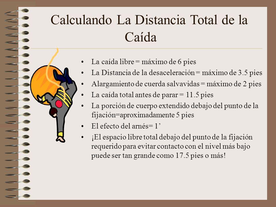 Calculando La Distancia Total de la Caída