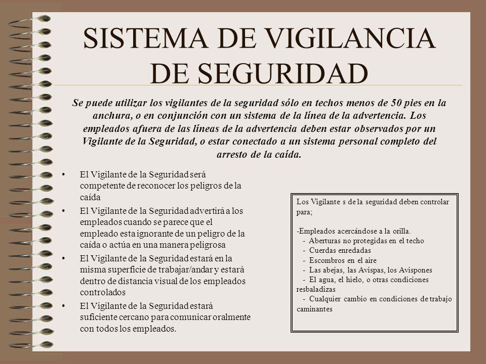 SISTEMA DE VIGILANCIA DE SEGURIDAD