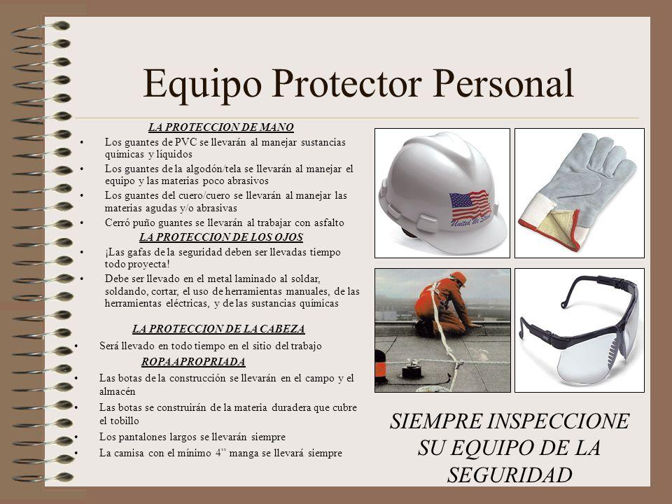 LA PROTECCION DE LOS OJOS LA PROTECCION DE LA CABEZA